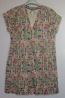 New Mistral House Print Cotton Tunic Top Dress Summer - Size 8 - 16