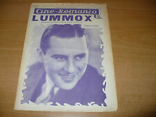 CINEMA CINE-ROMANZO 297 1932 LUMMOX O'DUNNELL BEN LYON DOROTHY TANIS W.WESTOVER
