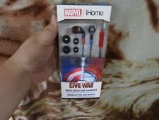 BEST PRICE! Imported From USA! iHome Marvel Noise Isolating Earbuds w/ Mic