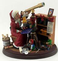 Danbury Mint Mrs. Claus Midnight Watch Christmas Figurine