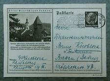 Deutsches Reich Ganzsache Bildpostkarte 36-71-1-B2 gestempelt
