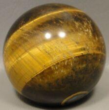 Tigereye Stone Sphere Tiger's Eye Gemstone 2 inch 50 mm Ball #1
