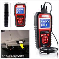 2017 New KW850 ODB OBD2 Diesel & Gasoline Autos Diagnostic Scanner Scanner Tool
