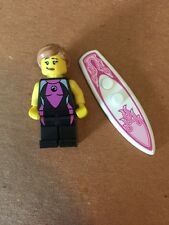Lego Mini Figure Series 4 Surfer Girl