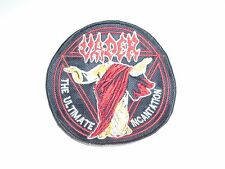 VADER DEATH METAL EMBROIDERED PATCH