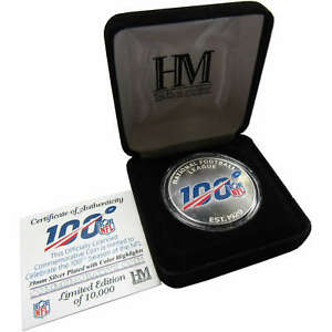 NFL 100th Anniversary Silver Mint Coin