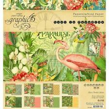 """Graphic 45 8""""x8"""" Double-Sided Paper Pad 24pcs - Lost In Paradise G4501892"""