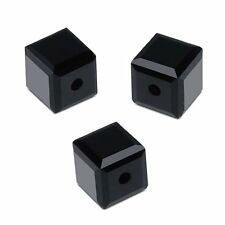 Perle Cube 8mm 8 mm cristal Swarovski 5601 - JET NOIR