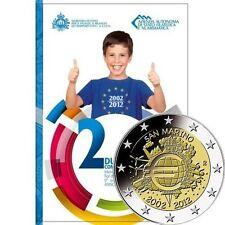Pièces euro saint marin pour 2 euro année 2012