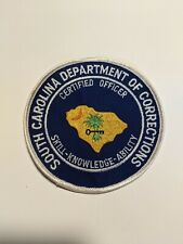 SC Department of Correction: Officer Patch