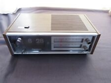 Panasonic RC-6530 Flip Clock Radio Vintage 70s  Working Condition