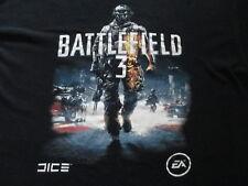 Electronic Arts Battlefield 3 Black Blue White T Shirt Size XL X-Large