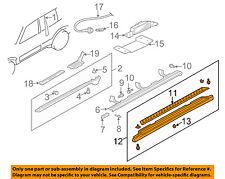 MN136421XA Mitsubishi Garnish, side step, lh MN136421XA