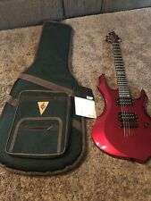 Awesome ESP LTD F-50 F-Series Electric Guitar With case and owners manual
