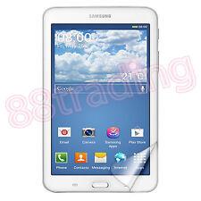 2 X Anteriore LCD Clear Proteggi Schermo per Samsung Galaxy Tab 3 Lite t110 t111