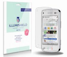 iLLumiShield Matte Screen Protector w Anti-Glare/Print 3x for Nokia N97 mini