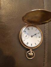 vintage american usa waltham traveller pocket watch