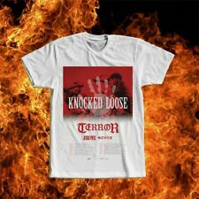 Knocked Loose American hardcore punk bandTerror T-shirt Tee Size S M L XL 2XL