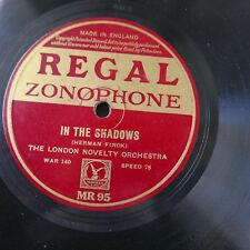 78rpm LONDON NOVELTY ORCHESTRA in the shadows / warblers serenade MR 95