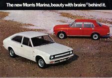 Morris Marina Series 1 Saloon & Coupe 1971-73 Original Sales Brochure 1.3 1.8 TC