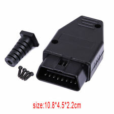 16Pin OBD2 Universal Connector Diagnostic Tool Extension Cable Male Adapter Plug