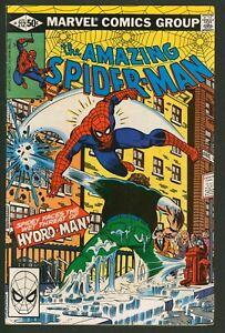 Amazing Spider-Man #212 Marvel Comics F-VF Vs Hydro-Man