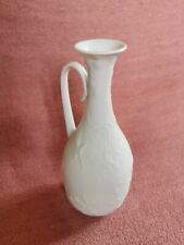 KAISER Bisquit Porzellan Vase Tischvase Blumenvase Fasan Dekor