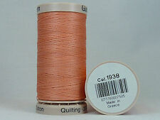 Gütermann Hand Quilting No. 1938 Thread Hand Quilting or Embroidery 200m | PEACH