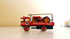 MATCHBOX MOY CODE 3 ATKINSON STEAM WAGON HEAVY TRACTOR RECOVERY JIB AND LOAD
