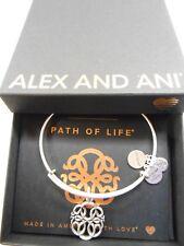 Alex and Ani PATH OF LIFE IV Expandable Wire Bracelet Rafaelian Silver NWTBC