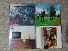 CAST - LOT OF 4 MAXI SINGLES ON CD ^FREE ME^ ^SELFTITLED^ ^MAGIC HOUR^ ^ALRIGHT^