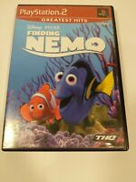 Finding Nemo Disney Pixar Sony PlayStation 2 PS2 Video Game