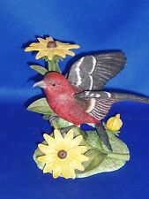 White Winged Crossbill Lenox Garden Bird Collection Excellent Condition