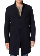 Michael Kors Men's Double Face Donegal Wool Blend Button-Front Overcoat $595