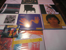 PAUL MCCARTNEY SOLO & WINGSPAN COLLECTORS 20 TITLES 35 SIDES OF VINYL RARE SET