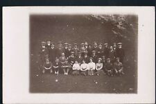 RP POSTCARD WORKING MENS DAY OUT FLAT HATS & MUSTACHES YORKSHIRE BASED ALBUM