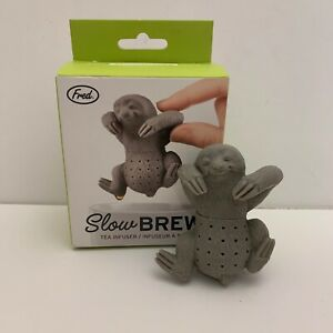 NEW Sloth Slow Brew Tea Infuser Steeper Strainer Fred and Friends - Quick Ship!