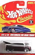 HOT WHEELS Classics #25/30 VW Drag Truck lila Series II