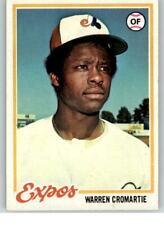 1978 Topps #468 Warren Cromartie F1C945