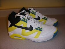 315956 Nike Air Men's Shoes Size 8 WHITE/YELLOW/BLACK/GREEN