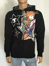Tokidoki Comic Con 2017 Harajuku Star Full Zip Fleece Hoodie Size M