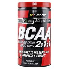 Isatori Bcaa s 200 Aminoacidi Ramificati qualita' Kyowa + Vitamine B3 B6 B12