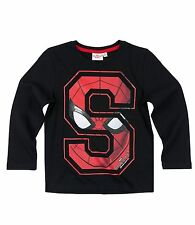 Boys Kids Official Licensed Disney Various Character Long Sleeve T Shirt Top Spiderman #1 4 - 5 Years