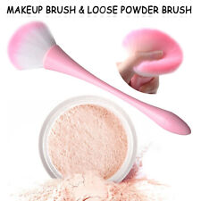 Pink Pro Powder Beauty Blush Brush Make Up Foundation Brushes Cosmetic Face Nose
