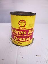 Shell grease tin.. motor oil. Shell. Esso.BP. garage.