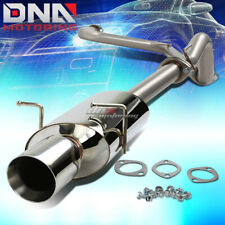 "FOR 05-10 CHEVY COBALT 2.2 4""ROLLED TIP STAINLESS STEEL EXHAUST CATBACK SYSTEM"