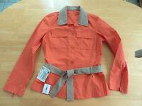 Luxus AMBIENTE Designer Blusen Jacke Gr. 38 orange NEU!!!!!!!!!!!!!!