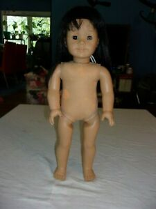 American Girl JLY #4 Asian Doll Pleasant Company Black Hair Brown Eyes NEEDS TLC