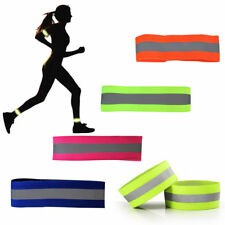 2X Safety Reflective Arm Band Belt Strap Outdoor Sport Night Running Cycling New