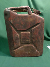 VINTAGE MILITARY 5 GALLON METAL FUEL WATER  CAN DATED 1952